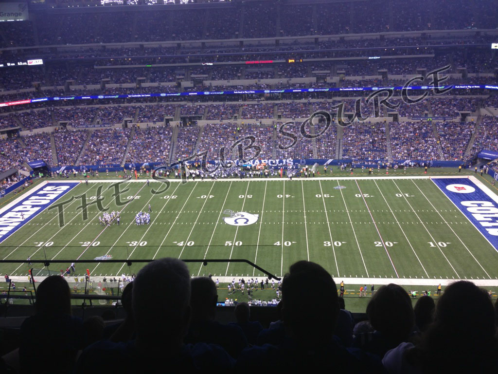 2 redskins indianapolis colts 11 30 tickets row 8 terrace for Terrace end zone lucas oil stadium